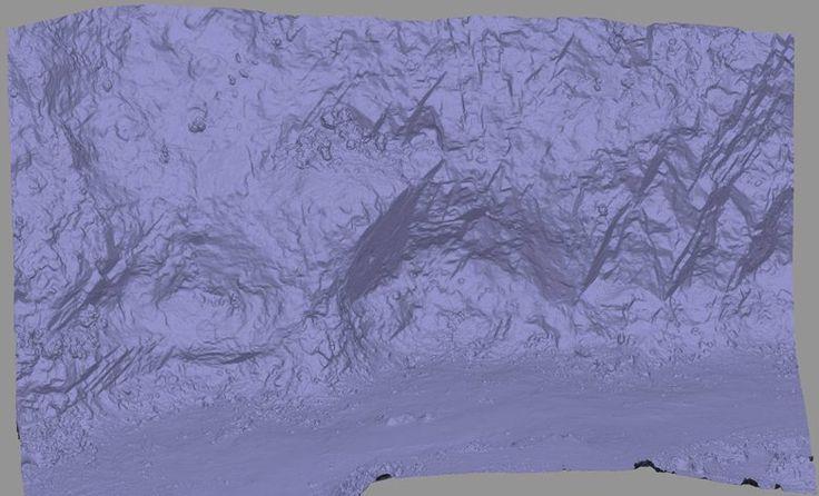 Rilievo topografico e strutturale centimetrico con drone della cava del Monte Castellare (Test), San Giuliano Terme, 2016 - GeoInformatiX, Alberto Antinori