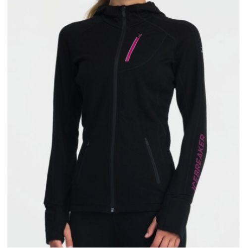 Icebreaker Women's Quantum Plus Long Sleeve Hood  - Outfitters, Grouse Mountain, Vancouver - Pin It To Win It Contest