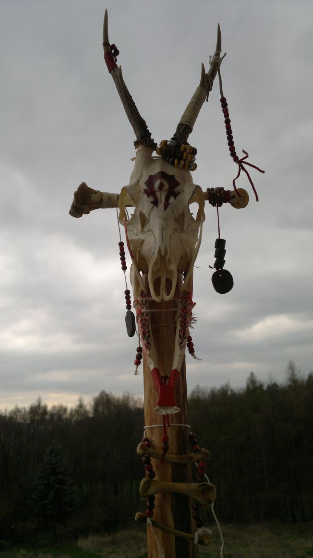 Orc shaman staff