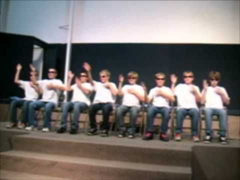 Hand Clapping Skit. Hmmm 5th grade could do this I think.