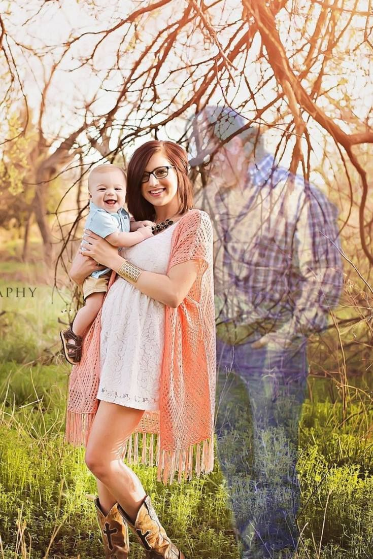 New Mom Celebrates Deceased Husband By Adding Him To Her -4736