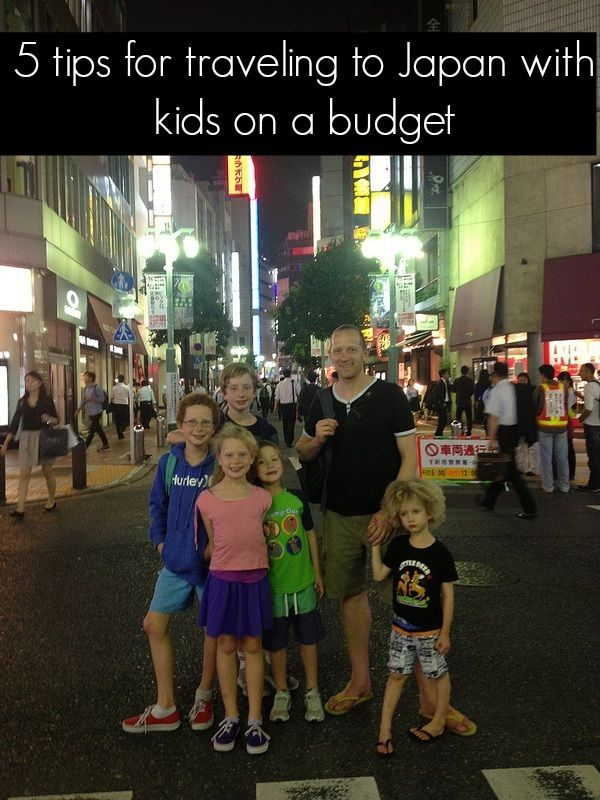 Thinking of visiting Japan with kids? Check out my 5 tips on how to make the most of your trip to Japan with your family on a budget.