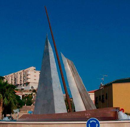 velero en Águilas - Murcia