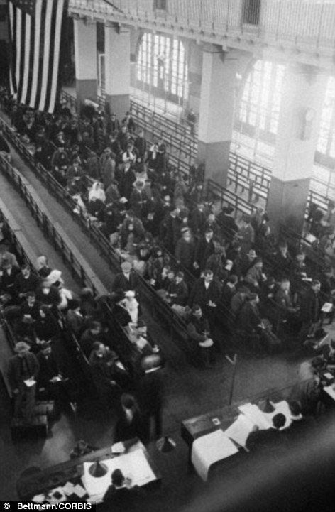 Ellis Island Immigrants Names | ... Ellis Island before it was transformed into a tourist attraction