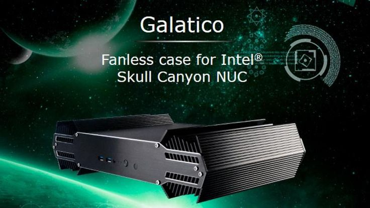 Akasa Made a Fanless Case for Intel's Skull Canyon NUC