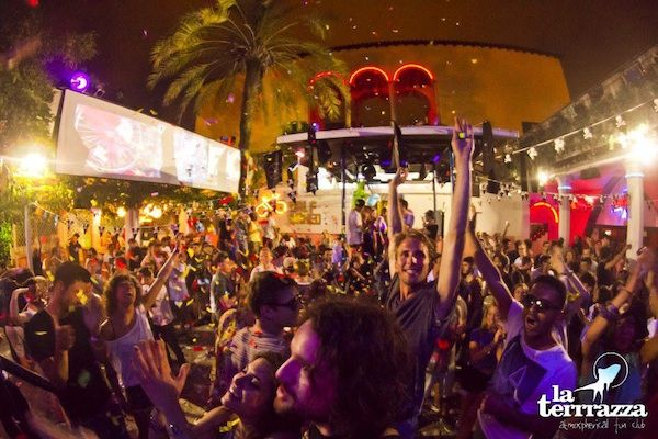 """It's official! Summer is here! And with it comes the opening of Terrazza, Barcelona's open-air club that's been bringing """"Peace, love and mu..."""