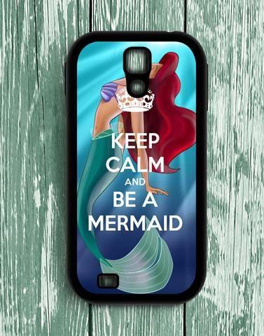 Keep Calm Be A Mermaid Samsung Galaxy S4 Case