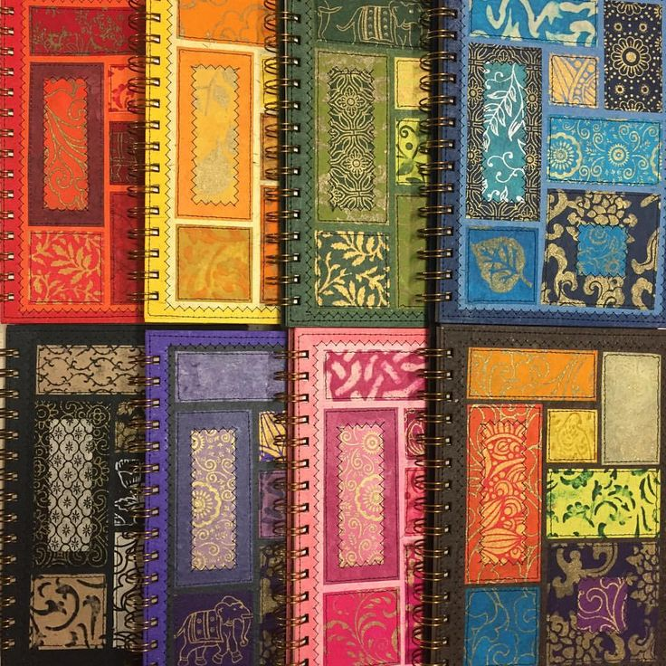 Beautiful bohemian notebooks. I wonder what stories they will preserve?
