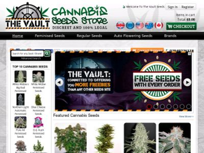 The Vault Cannabis Seeds Store Review