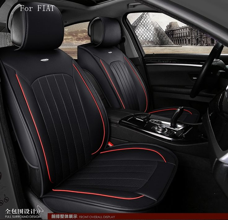 99.95$  Buy here - http://ali66a.shopchina.info/1/go.php?t=32800211537 - OUZHI for fiat punto fiat 500 stilo panda small hole ventilate wear resistance PU leather Front&Rear full car seat covers  99.95$ #aliexpressideas