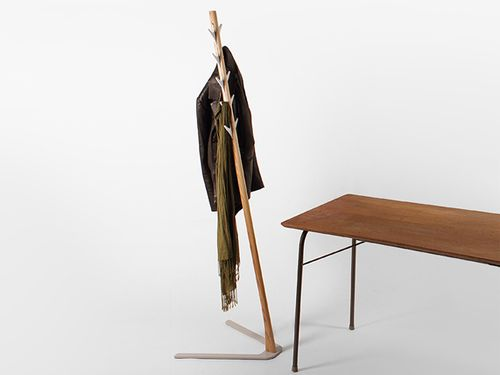 Frankie Coat Stand insitu with table - Designer Designtree.jpg
