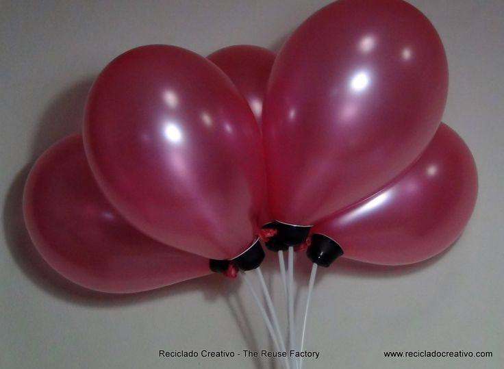 How to make stand up balloons with recycled Dolce Gusto ...