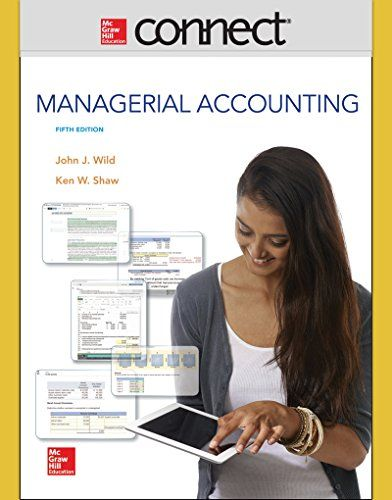 Connect 1 Semester Access Card for Managerial Accounting http://ift.tt/2kAleDc