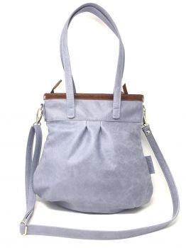 07c8c46bd1f32 shop.kaa-berlin.de - Hellblaue Ledertasche Damen Handtasche