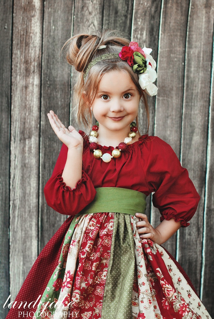The Natalia Rose dress by Corinna Couture Christmas 2012. $60.00, via Etsy.