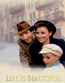 Life is beautiful... foreign movie,, it is one of the best movies I've ever seen. A real tear jerker but uplifting too due to the love of a father for his son.  Read the reviews on Netflix...A Jewish Italian waiter named Guido is sent to a Nazi concentration camp, along with his wife and their young son. Refusing to give up hope, Guido tries to protect his son's innocence by pretending that their imprisonment is an elaborate game.