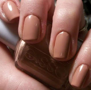 "Essie ""Mamba"" - just bought this yesterday, perfect nude coral. Really need a proper manicure though."