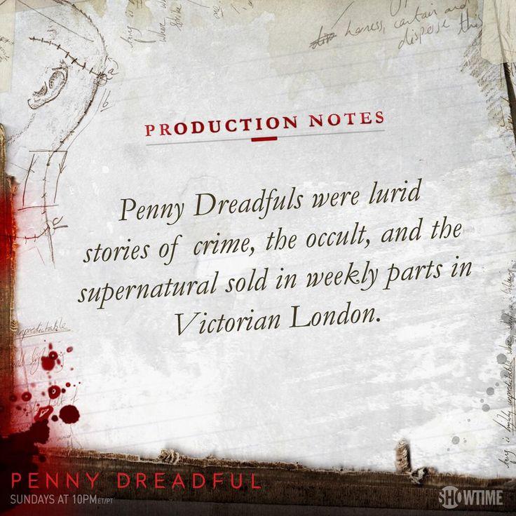 .Penny Dreadfuls