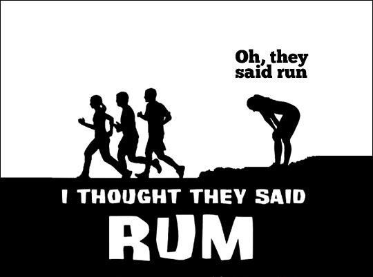 Oh, they said run...