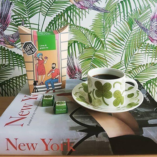 Perfect color matching  # @w.leena   == KaffeBox member post ==  A perfect coffee time with cremino pistacchio #kaffebox #kaffe #kahvi #coffee #instacoffee #coffeetime #coffeepause #coffeelover #january #venchi #arabiafinland #arabiaapila