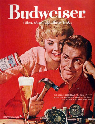 Because placing a glass of beer next to a doofus holding a hammer is a great idea. Source