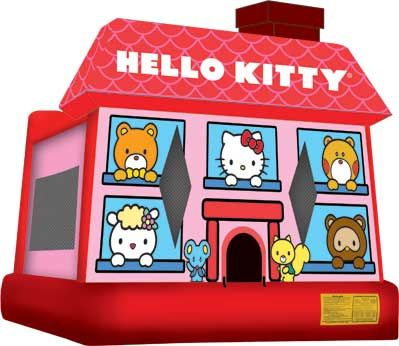 Hello Kitty Moonwalk from Sky High Rentals in Houston.
