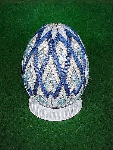 Temari Balls blue egg | Flickr - Photo Sharing!