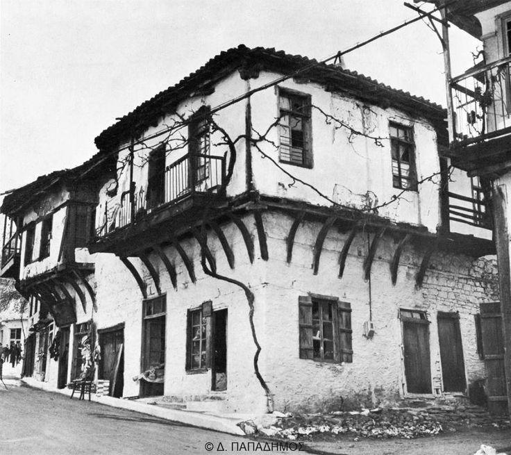 Χαλκιδική, σπίτια στην Αρναία