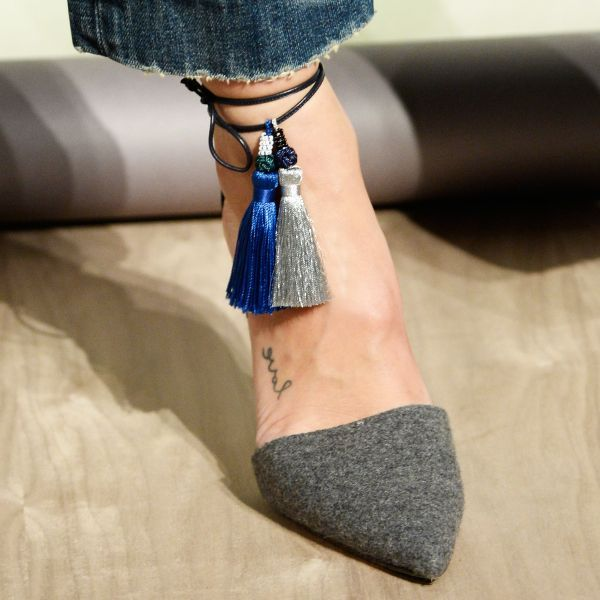 """Fall 2015 Pieces You'll Want To Buy   The Zoe Report J.Crew's Tassel Pumps Prediction: You'll RSVP """"yes"""" to every single party you're invited just so you can wear these these festive stunners as much as possible."""