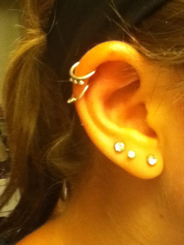 70 best Ear piercings images on Pinterest   Ears, Jewerly ... Ear Piercings Infection Bump
