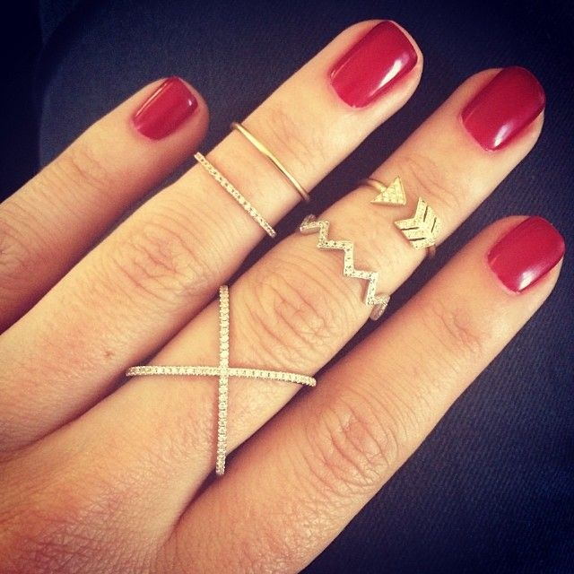 Ohhhh yessss...I am ordering that arrow ring. LOVE IT! | EF Collection
