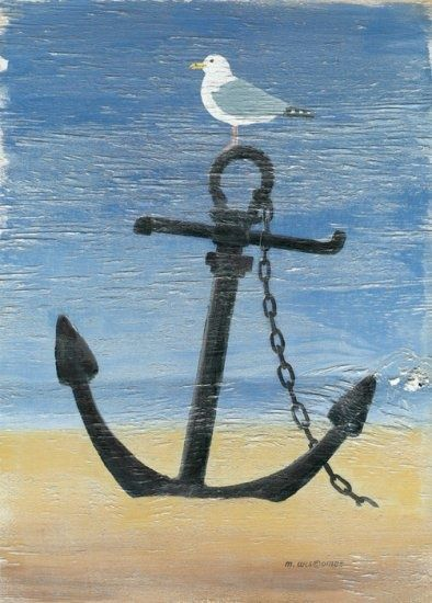 25 Best Ideas About Anchor Canvas Paintings On Pinterest