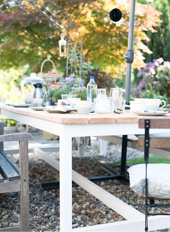 Balkontisch selber bauen  Gartentisch Richard selber bauen - Tische | Gartenmöbel jetzt selber ...