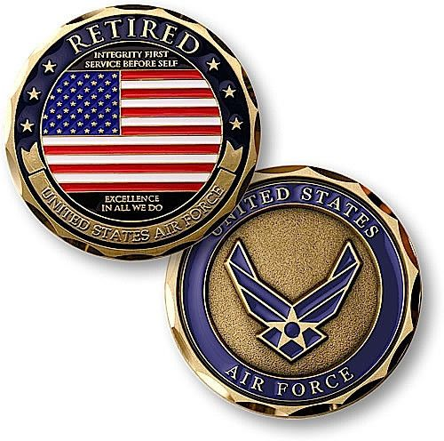U.S. Air Force Retired Coin