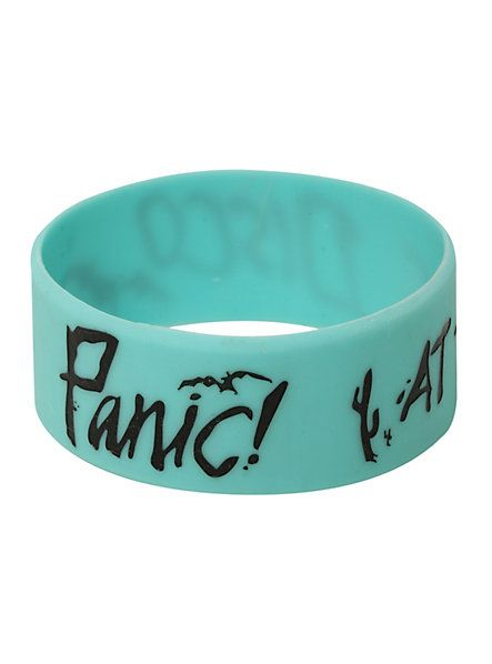 Panic! At The Disco Bats Rubber Bracelet | Hot Topic