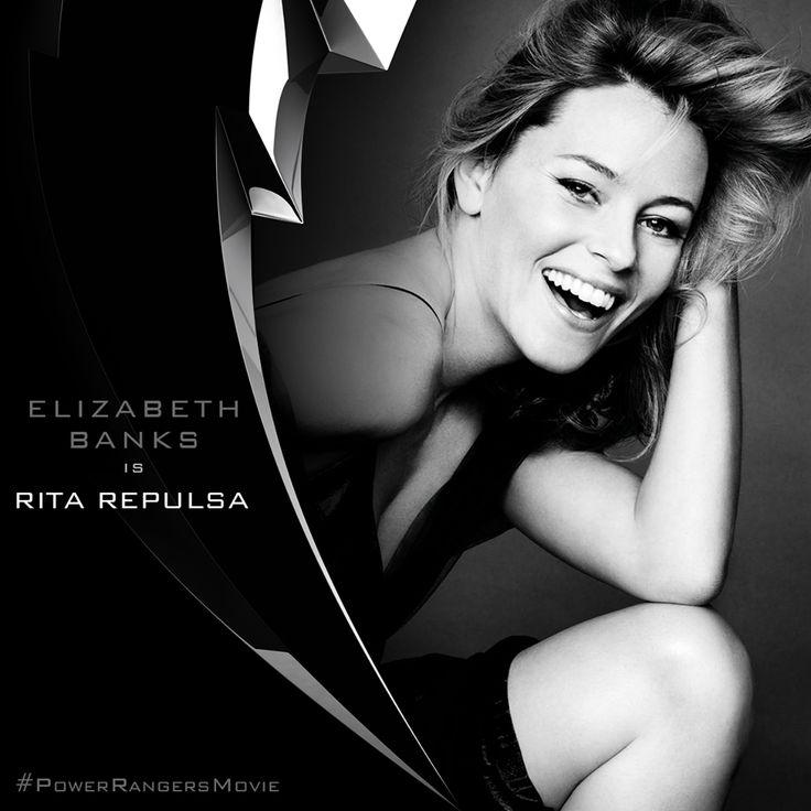 How evil… Elizabeth Banks joins the Power Rangers Movie cast as the villainous, Rita Repulsa. Let the countdown to 2017 begin!