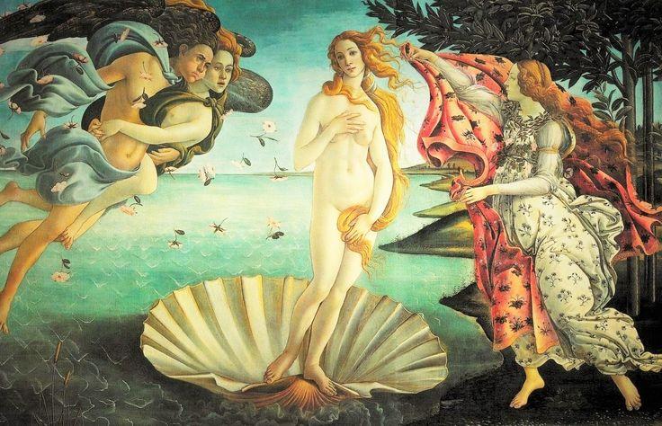 La cámara del arte: El nacimiento de Venus