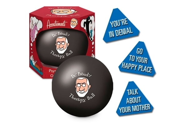 @Sarah Scott, I thought you might appreciate this. Dr. Freud's Therapy Ball: Similar to a Magical 8 Ball