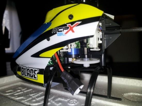 blade mCPx moteur brushless