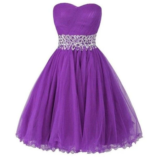 LanierWedding Women's Sweetheart Short Bridesmaid Dresses Homecoming... (66 CAD) ❤ liked on Polyvore featuring dresses, bridesmaid dresses, sweet heart dress, short dresses, sweetheart neckline homecoming dress and purple sweetheart dress