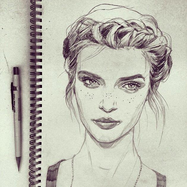 Bei Instagram habe ich kürzlich die tolle Victoria Jones entdeckt. Sie ist eine unglaublich gute Künstlerin, die momentan in Cornwall lebt und das S…