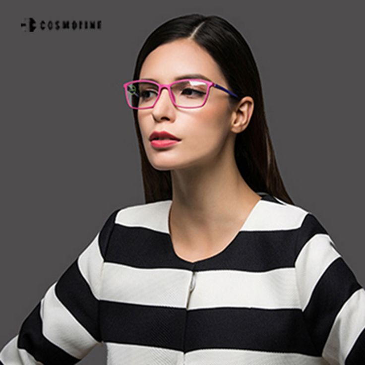 COSMOLINE Ultra Light Computer Eyeglasses Frame Women Optical Eyewear Frame oculos de grau feminino armacao 389
