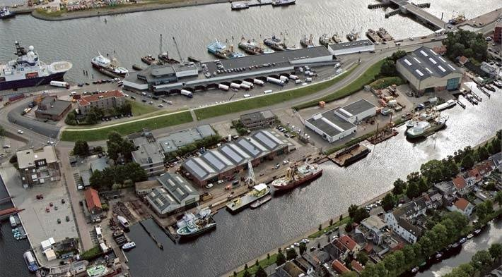 The focus of Damen Shipyards Den Helder is mainly repair and maintenance work although it does handle the occasional newly built vessel. http://damendenhelder.nl/