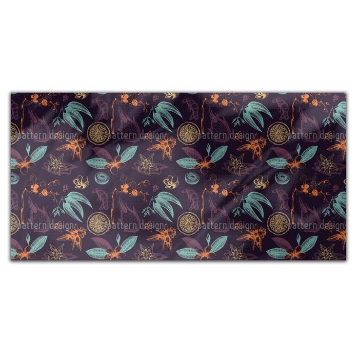 Uneekee Exotic Plants Rectangle Tablecloth