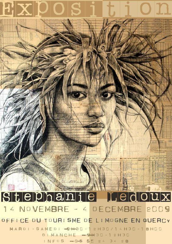 "Stephanie Ledoux Art | Limogne 2009"""