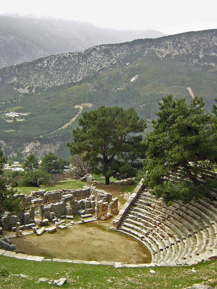 Theatre Arykanda,   Antalya Turkey  -Ancient Theatre