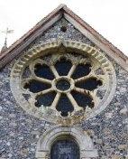 Patrixbourne Roman Church (12c.), Kent, England