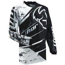 Thor Motocross Phase Splatter Jersey - http://downhill.cybermarket24.com/thor-motocross-phase-splatter-jersey-largeblack/
