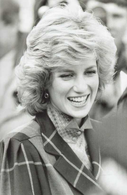 5 feb 1985 Diana at the headquarters of Dr Barnado in Barkingside, Essex