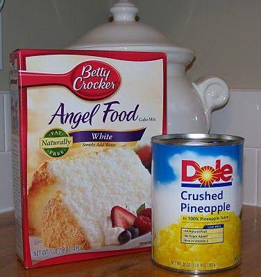 Oblong Angel Food Cake Pan